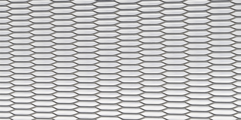 Powder / Fluorocarbon Aluminum Expanded Curtain Wall/ Ceiling Mesh