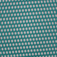 Perforated aluminum sheet