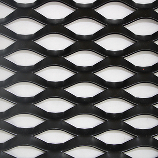 Diamond Expanded Metal Screen Aluminum