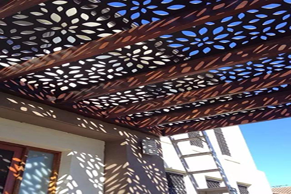 Decorative Laser Cut Outdoor Metal Screen Panels