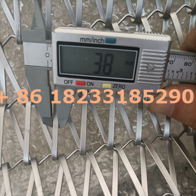 304 stainless steel flat wire conveyor belt