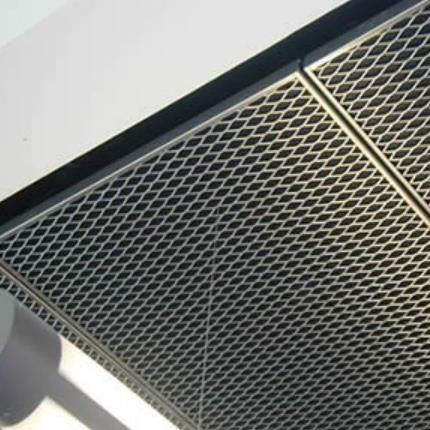 expanded mesh ceiling 1