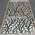 Aluminum Laser Cut Screen With Powder Coated Surface Treatment Delivered to America